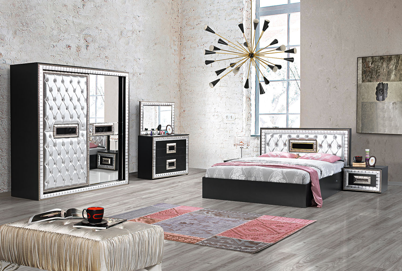 Dormitor DUBAI | Mobila de calitate | Design moderm | Mobstore