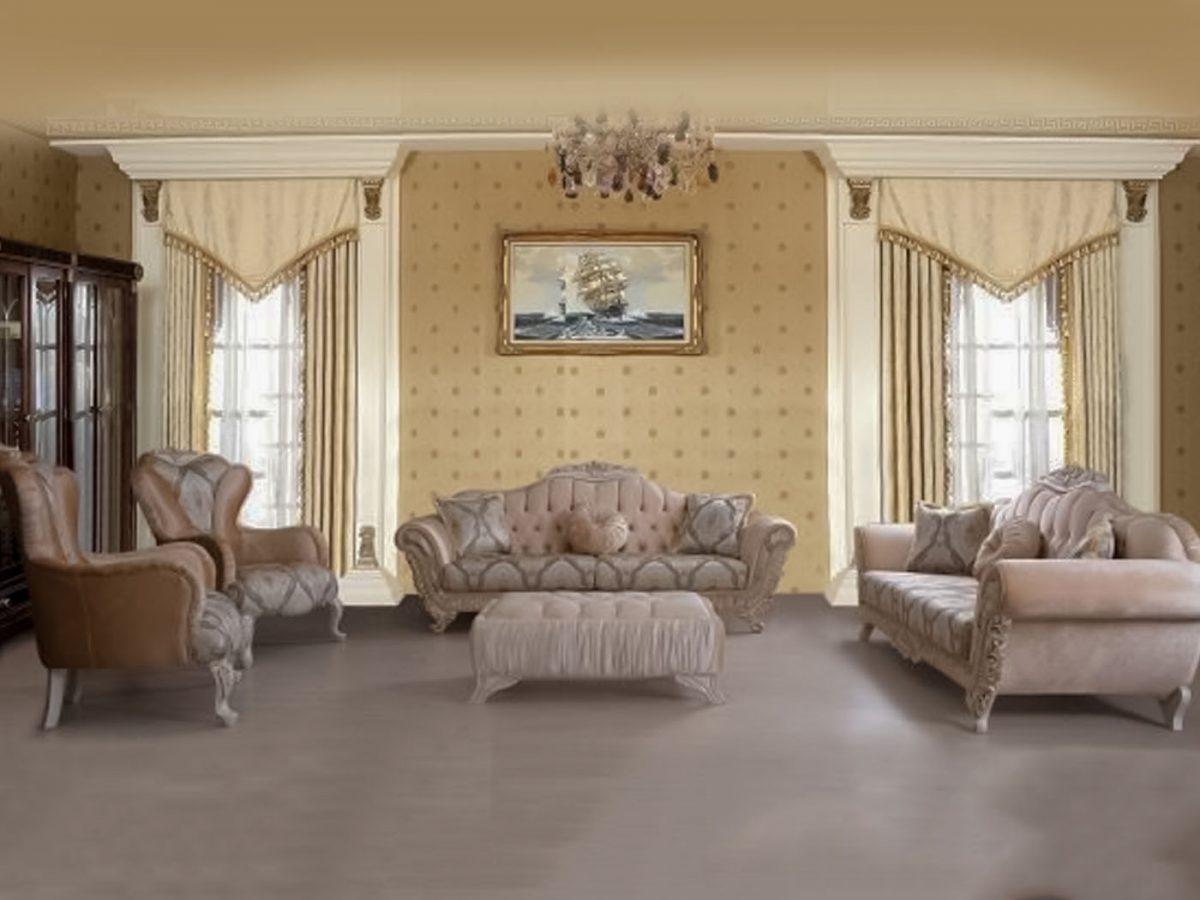 Set canapea si fotolii ROSE